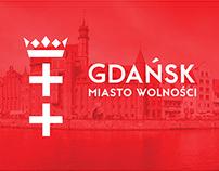 Projekt identyfikacji wizualnej dla Miasta Gdańsk