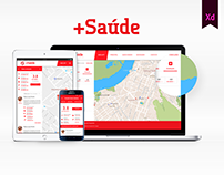+Saúde - Public healthcare solution