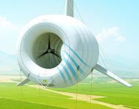 Airborne Wind Turbine Visualizations