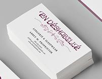 En Déshabillé Lingerie and Sleepwear Branding