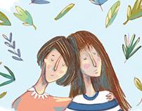 Serie de ilustraciones por causas sociales.