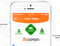 Astrology Advice Mobile App Design & Style Guide