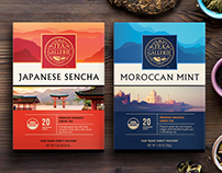 Tea boxes (packaging) design