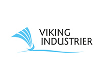 Garden products factory VIKING INDUSTRIER logo