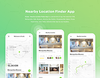 Crazly - Nearby Location Finder App
