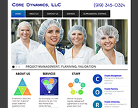 Core Dynamics, LLC Websites