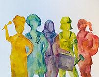 Testattuja toimia naisten työllisyyteen