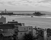 santa monica beachscapes