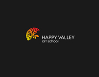Happy Valley Art School Rebranding