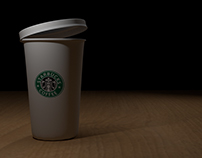 Coffee Cup: Blender 3D