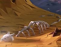 Low Poly Isometric Desert