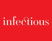 Infectious festival logo