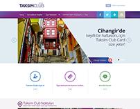 Taksim Club Card Website, 2014