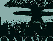 Oakwood magazine cover design