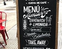 Chalkboards - Café Negro
