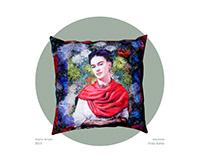 Almofadas Frida Kahlo