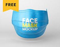 Free Face Mask Mockup Set | Respirator