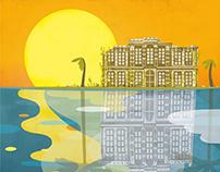 'Las sombras del Palacio' Book cover
