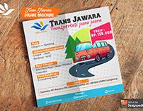 Trans Juara Square Brochure Template