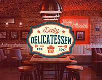 Айдентика ресторана Daily Delicatessen