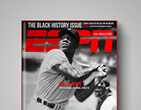 ESPN Magazine Cover Concepts - The Black History Issue