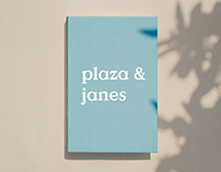 Plaza & Janes Book Covers
