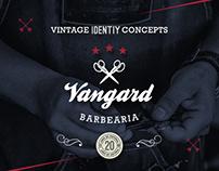 Vangard Barber Shop // Vintage Identity Concepts