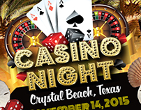 Casino Night - Crystal Beach, Texas