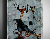 """Winter is coming"" - Abstract Graphic Design"