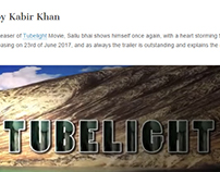 Tubelight Movie Reviews pro Designed by Worksole