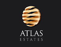 Atlas Estates - Logo, Corporate Identity, Design