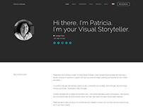 Patilustra.com Site Design