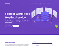 Axiohost - Corporate and Business Jekyll Template