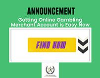 Getting Online Gambling Merchant Account is Easy Now