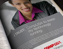 CompUSA Business Services Ad Campaign