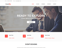 Eventify - an event management html5 template