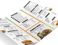 Tortacos 2017 | Menu Brochure Print Design
