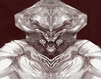 Sketching/Creature concept.June