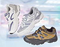 Design banners for online shoes shop.