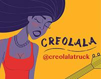 Creolala Food Truck Branding