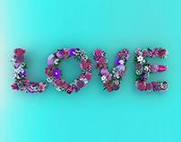 Love Flowers_Typo