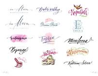 Hand Lettering Logotype 2015-2017