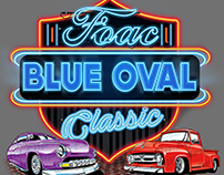 FOAC Blue Oval Classic Shirt Design 2017