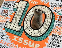 "Mental Floss ""The 10 Issue"" Cover"