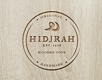 LOGO AND BUSINESS CARD FOR HIDJRAH