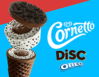 Algida Cornetto Disc 3D Visualization