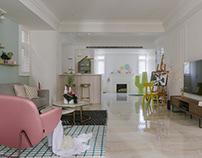 Trochee of Tints/ RIS interior design