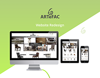 ARTeFAC Website Redesign