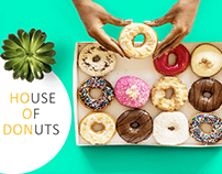 Social Media Designs | House of Donuts