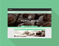 Webdesign // Maria Cacao